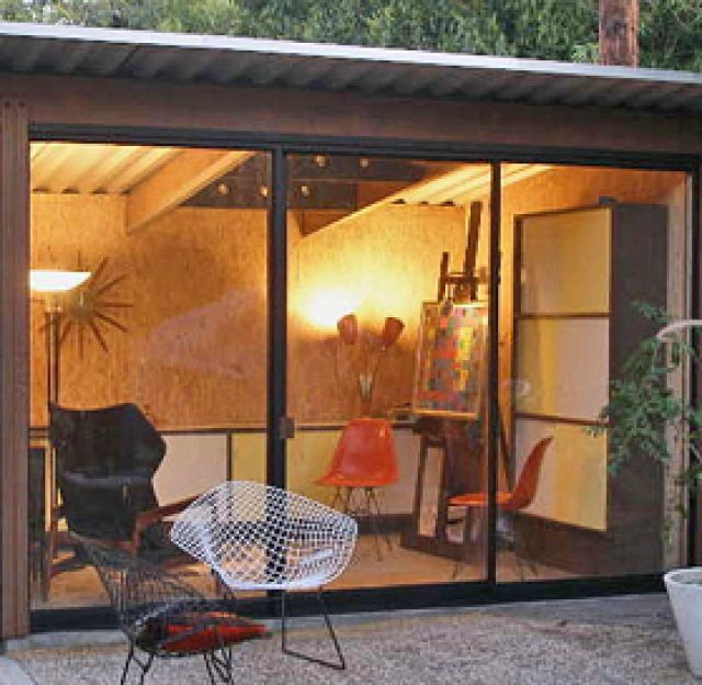 Backyard office Pod